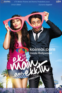 Imran Khan, Kareena Kapoor (Ek Main Aur Ekk Tu Movie Poster)