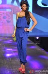 Jacqueline Fernandez walks the ramp at the Allure Fashion Show