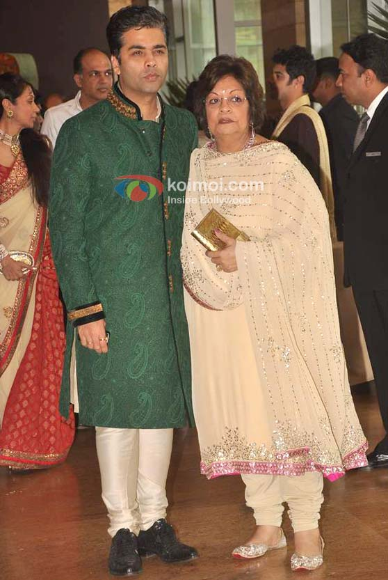 Karan Johar At Ritesh-Genelia Wedding