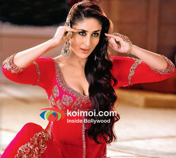 Kareena Kapoor in a still from Agent Vinod