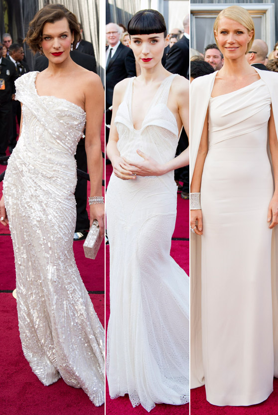 Milla-Jovovich, Rooney Mara, Gwyneth Paltrow
