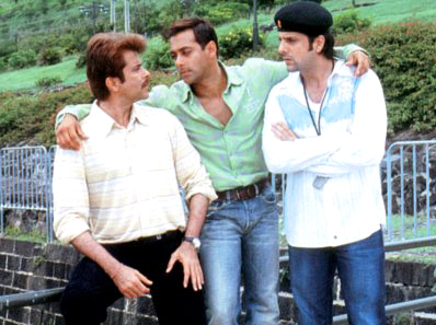 Salman Khan And Anil Kapoor In No Entry