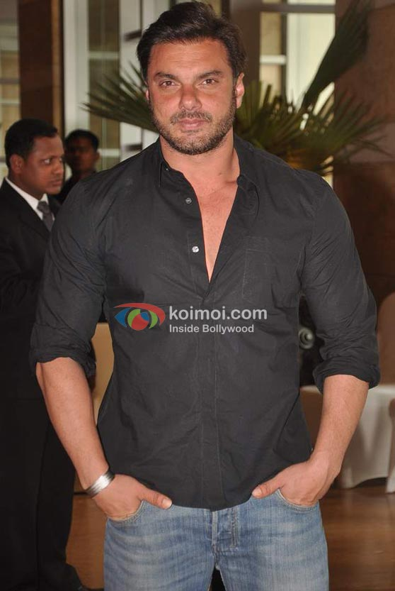 Sohail Khan At Ritesh-Genelia Wedding