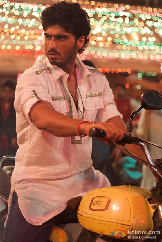 Arjun Kapoor in gives a dirty look Ishaqzaade Movie