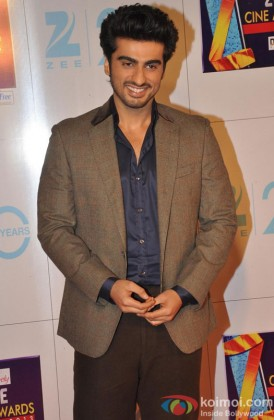 Arjun Kapoor at Zee Cine Awards 2013