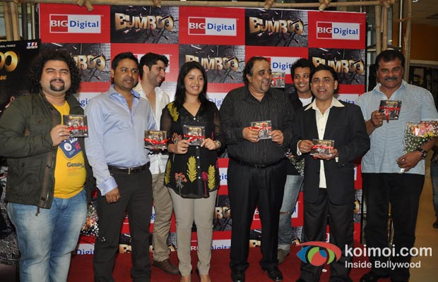 Sunidhi Chauhan At Bumboo Music Launch