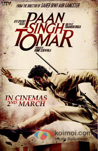 Paan Singh Tomar Review (Paan Singh Tomar Movie Poster)