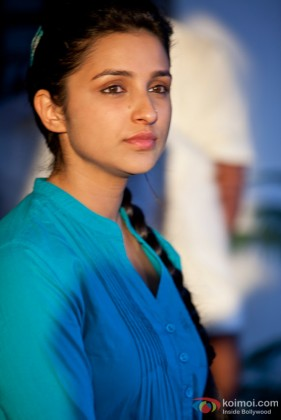 Parineeti Chopra in a serious mood in Ishaqzaade Movie