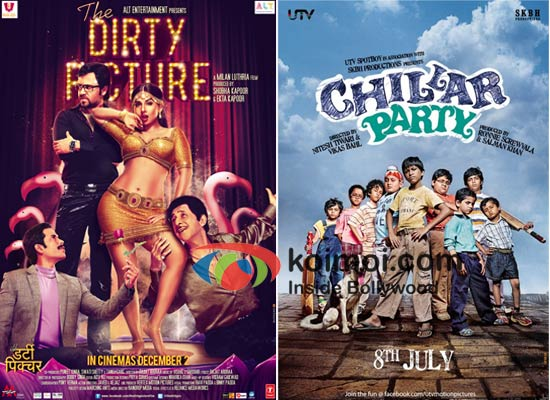Poster Of The Dirty Picture And Chillar Party