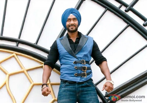 Ajay looks dashing in Son Of Sardar Movie Stills