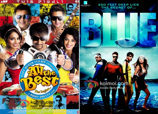 All The Best and Blue Movie Poster