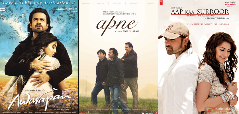 Awarapan, Apne & Aapp Ka Suroor Movie Posters
