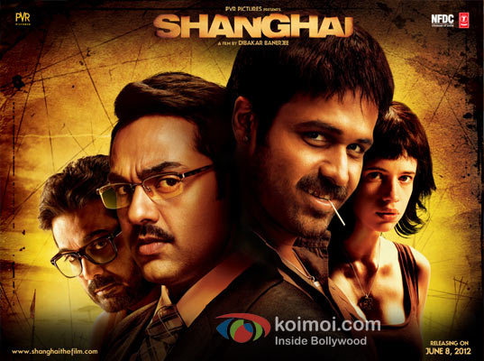 Emraan Hashmi, Abhay Deol, Kalki Koechlin, (Shanghai Movie Wallpaper)