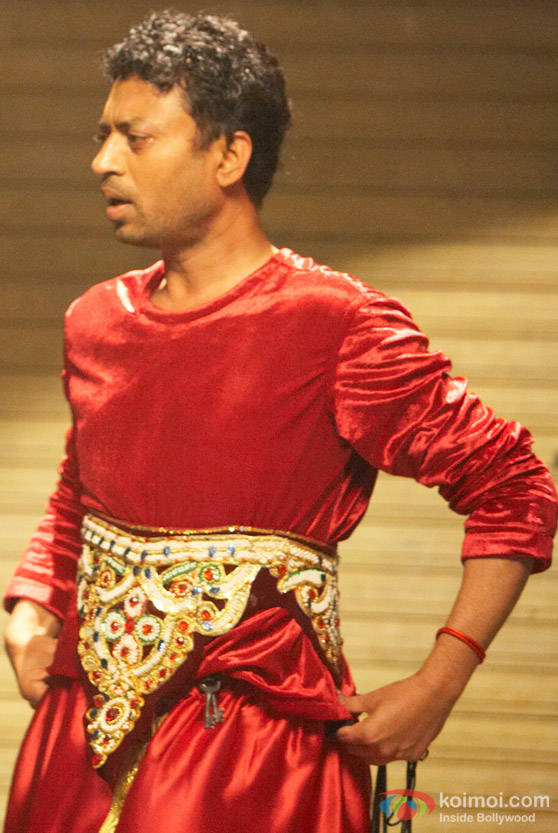 Irrfan Khan in a get up from Sunday Movie