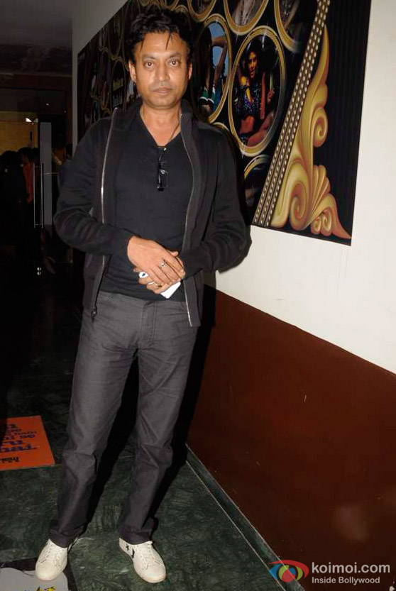Irrfan Khan At 'The Dirty Picture' Movie Screening