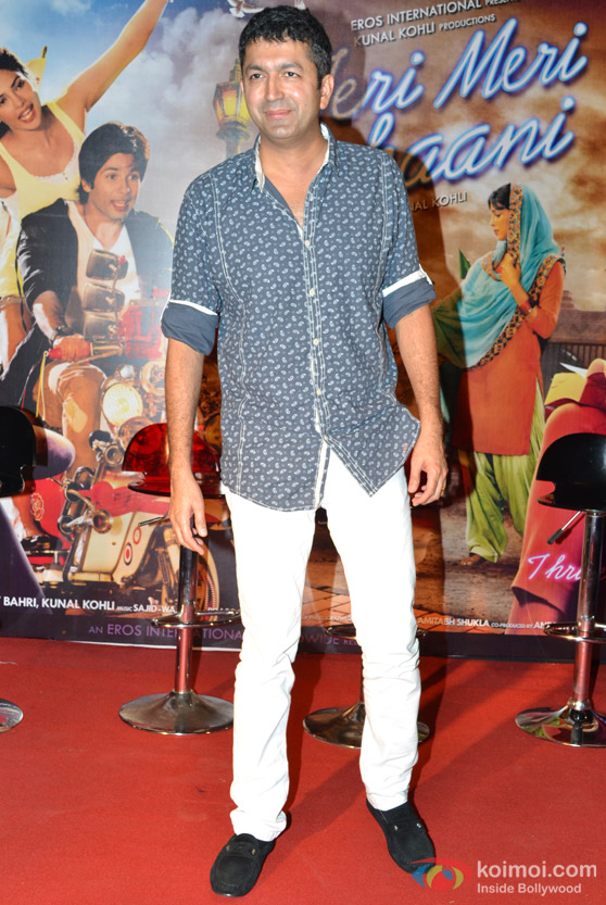 Kunal Kohli At 'Teri Meri Kahaani' Movie First Look Launch Event