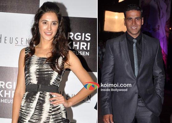 Nargis Fakhri and Akshay Kumar