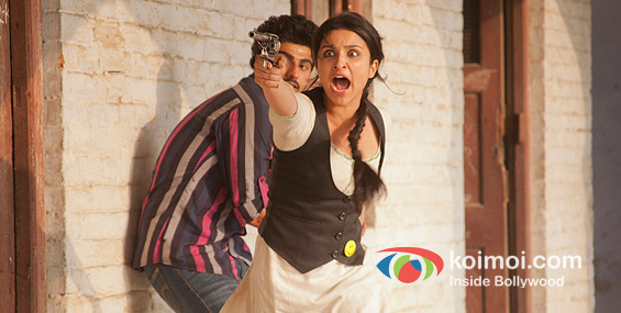 Arjun Kapoor, Parineeti Chopra Ishaqzaade Movie Stills