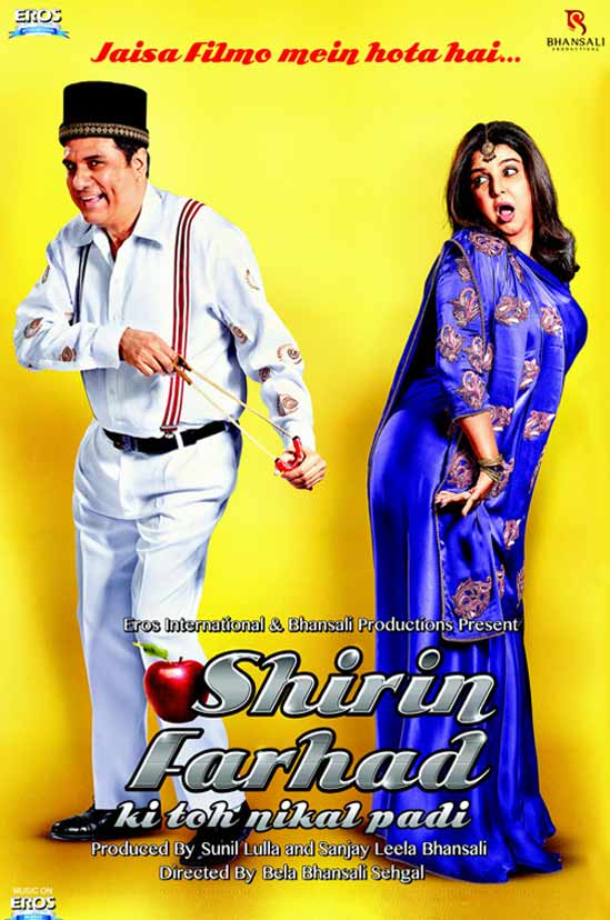 Boman Irani, Farah Khan In Shirin Farhad Ki Toh Nikal Padi First Look