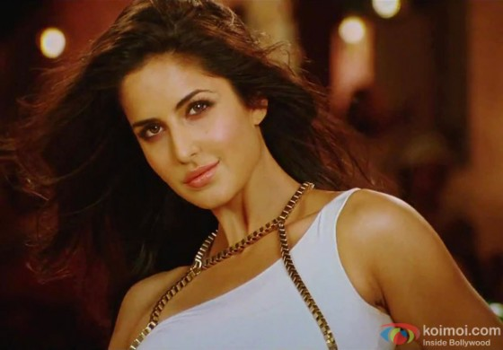 Katrina Kaif in a stunning white dress in Ek Tha Tiger Movie Stills