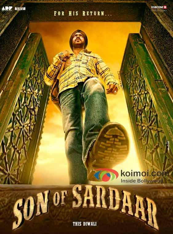 Ajay Devgan Son Of Sardaar Movie First Look Poster
