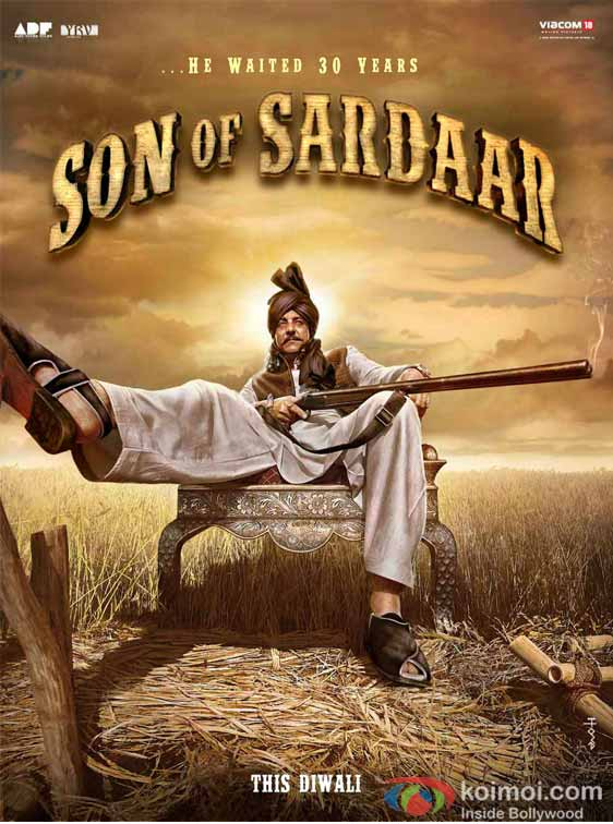 Sunjay Dutt Son Of Sardaar Movie First Look Poster
