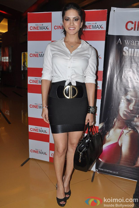 Sunny Leone At Jism 2 Movie Promotional Event