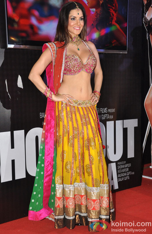 Sunny Leone at Laila Teri Le Legi Song Launch from Shootout at Wadala