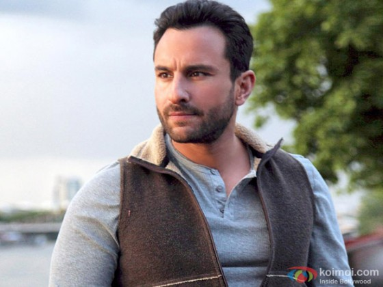 Thinking Saif Ali Khan in Cocktail Movie Stills
