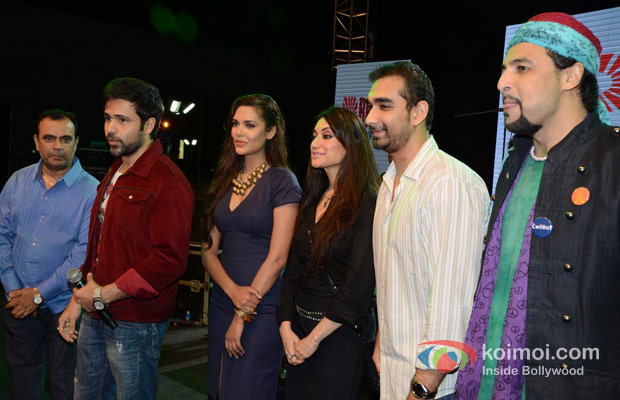 Emraan Hashmi, Prashant Shirsat With Junoon Band
