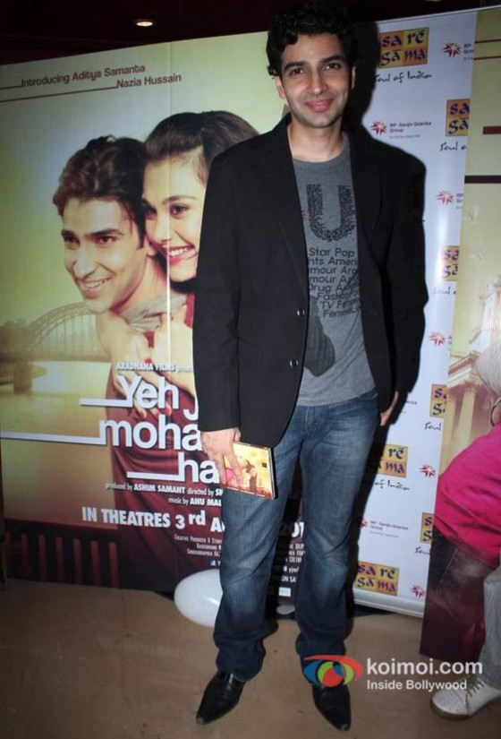 Aditya Samanta at Yeh Jo Mohabbat Hai Movie Music Launch