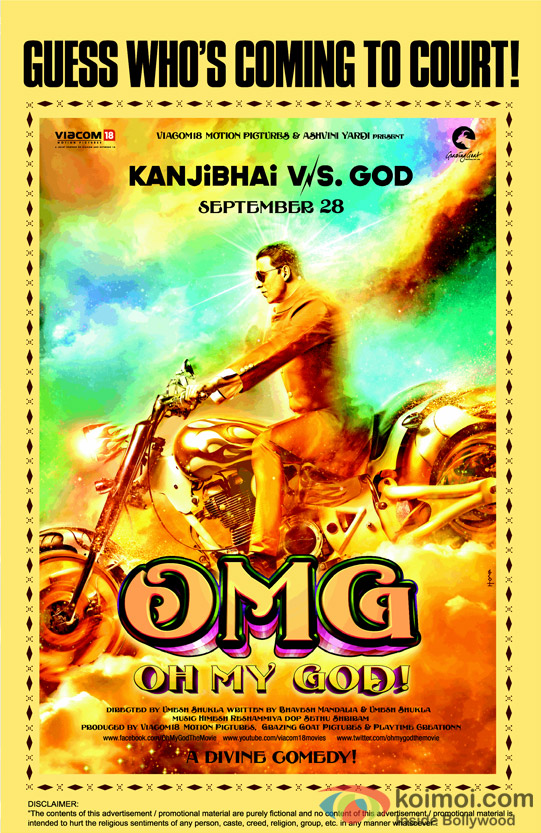 Akshay Kumar in OMG Oh My God! Movie Poster