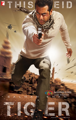 Salman Khan in Ek Tha Tiger Movie Poster