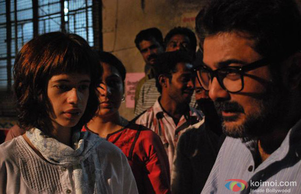 Kalki Koechlin and Prosenjit Chatterjee in Shanghai Movie Stills