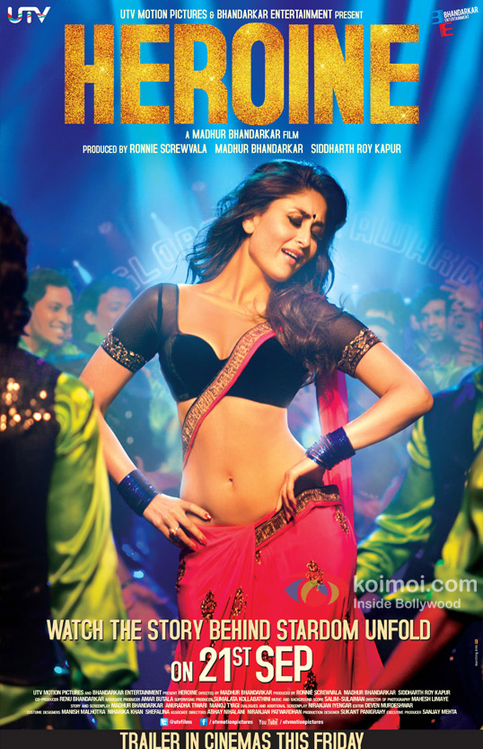 Kareena Kapoor Halkat Jawani Heroine Movie Poster