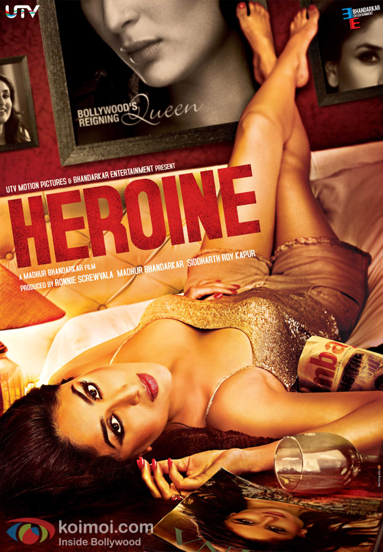 Kareena Kapoor Hot Look in Heroine Movie Poster