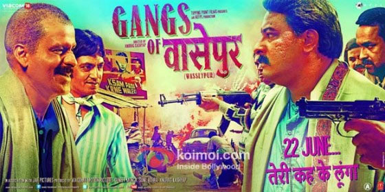 Manoj Bajpayee In Gangs Of Wasseypur Movie Poster
