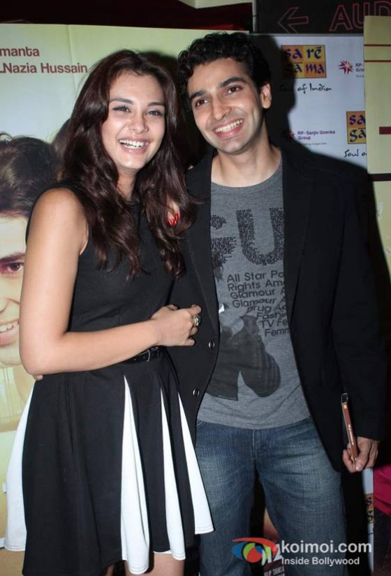 Nazia Hussain, Aditya Samanta at Yeh Jo Mohabbat Hai Movie Music Launch