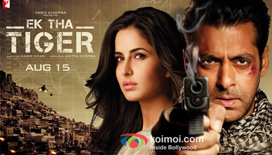 Katrina Kaif and Salman Khan in Ek Tha Tiger Movie