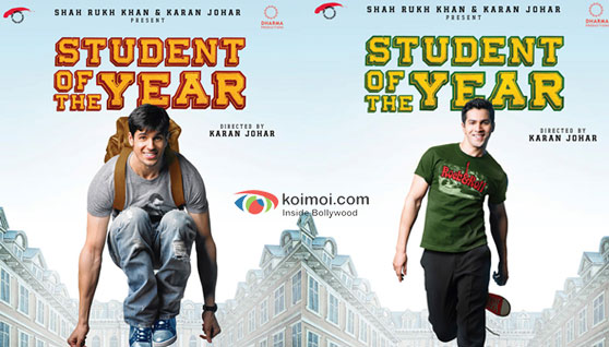 Siddharth Malhotra & Varun Dhawan in Student of the year