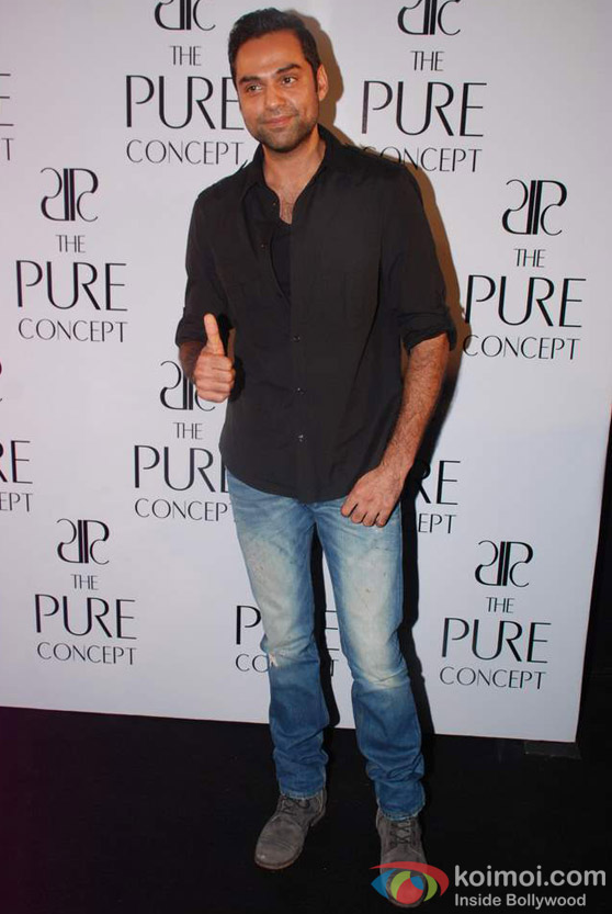 Abhay Deol at launch of Pure Concept