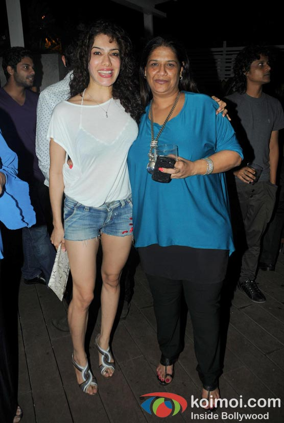 Adah Khan, Mohini at  'Wednesday Bar Nights' Celebration