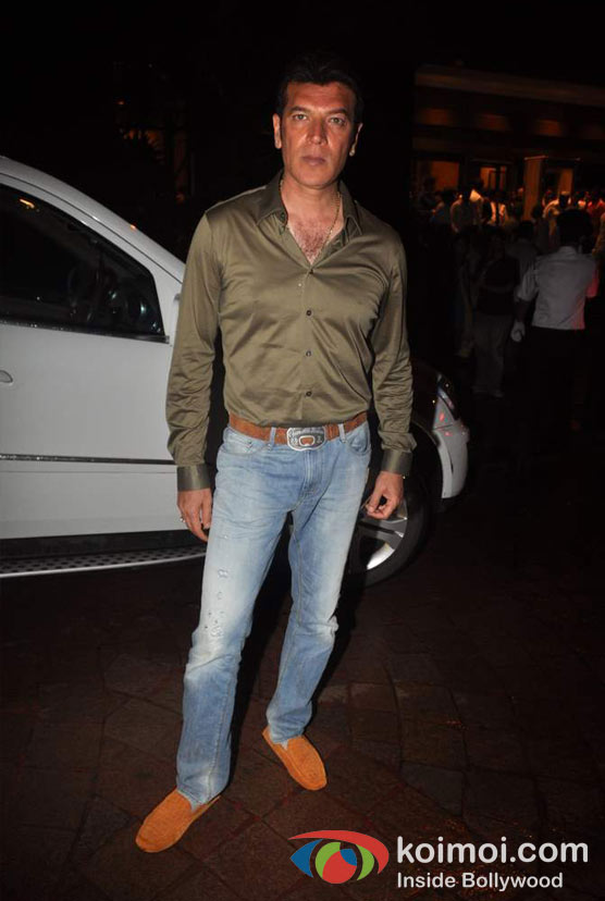 Aditya Pancholi At Baba Siddique's Iftar Party