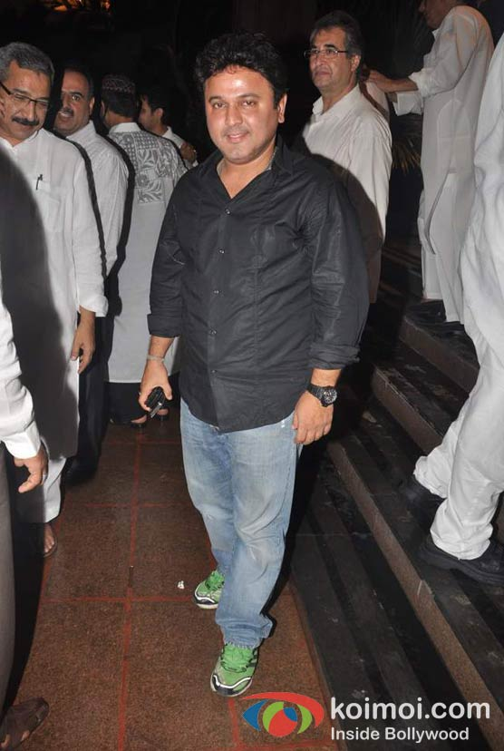Ali Asgar At Baba Siddique's Iftar Party