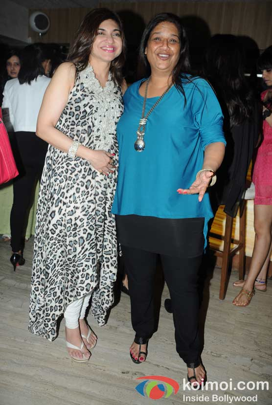 Alka Yagnik, Mohini at 'Wednesday Bar Nights' Celebration