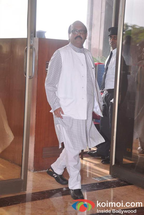 Amar Singh At Rajesh Khanna's Prayer Meet
