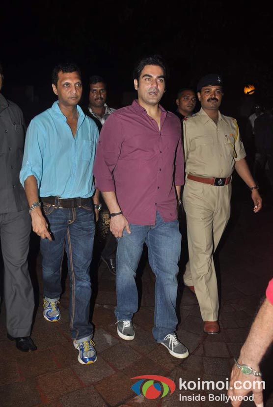 Arbaaz Khan At Baba Siddique's Iftar Party