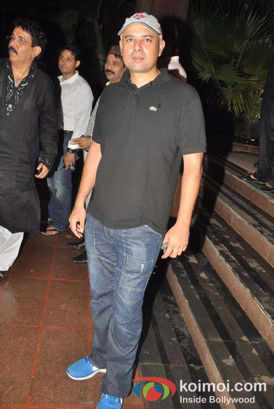 Atul Agnihotri At Baba Siddique's Iftar Party