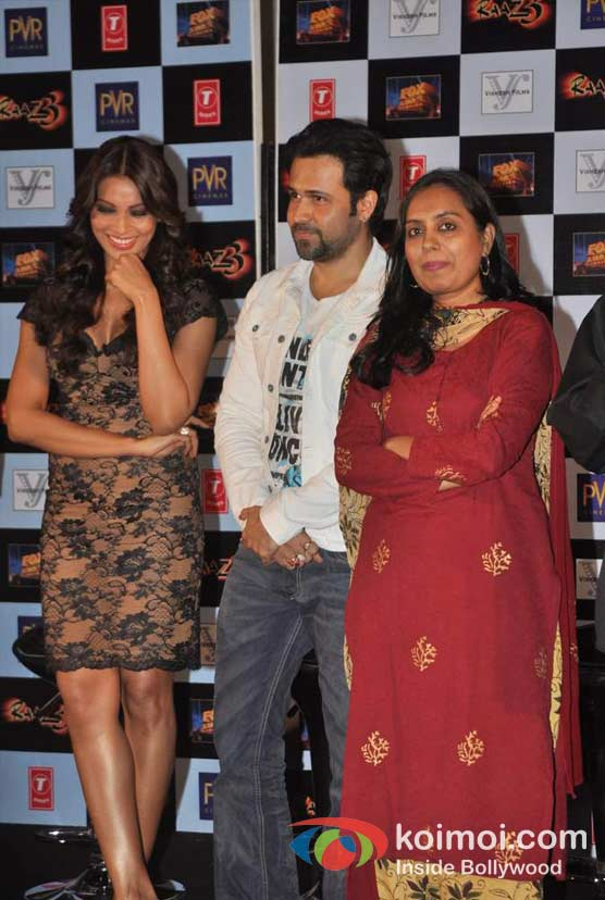 Bipasha Basu, Emraan Hashmi, Shagufta Rafique At Raaz 3 Movie Press Meet