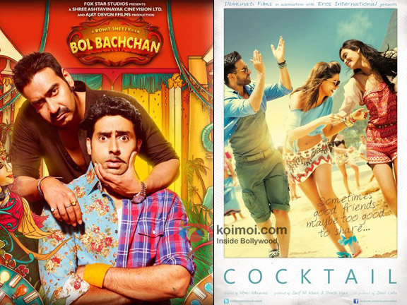 Bol Bachchan and Cocktail Movie Poster